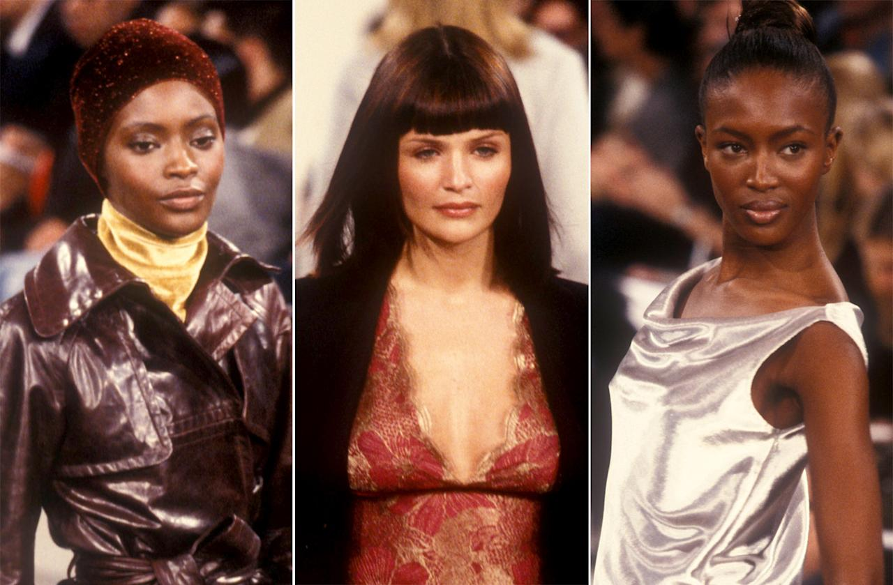 <p>Marc Jacobs has always known how to make models look like themselves and effortlessly chic, even when hair is totally cray. (Photo: Fashion Anthology) </p>