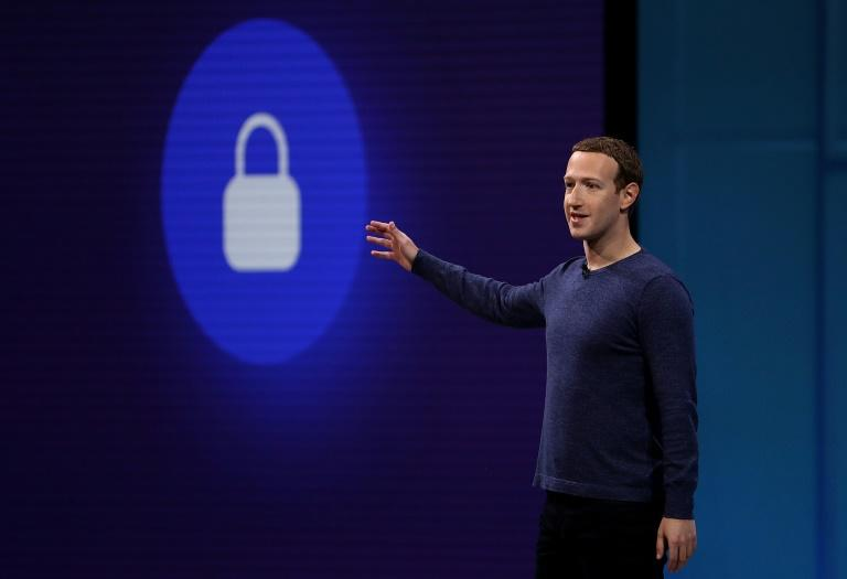 Facebook CEO Mark Zuckerberg said the huge social network's growth was strong, but shares fell after the quarterly update (AFP Photo/JUSTIN SULLIVAN)