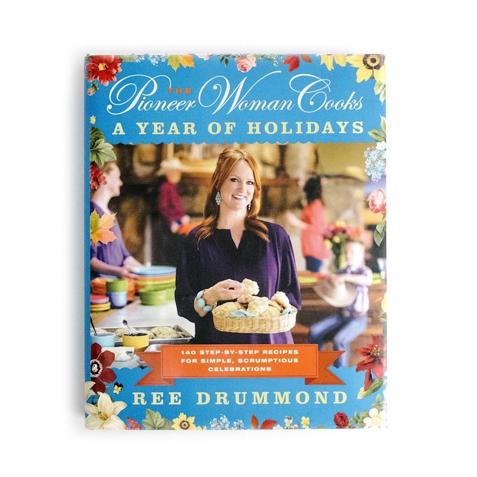 """<p><strong>Brand: William Morrow Cookbooks</strong></p><p>walmart.com</p><p><strong>$14.98</strong></p><p><a href=""""https://go.redirectingat.com?id=74968X1596630&url=https%3A%2F%2Fwww.walmart.com%2Fip%2F23369205&sref=https%3A%2F%2Fwww.thepioneerwoman.com%2Fholidays-celebrations%2Fgifts%2Fg33313218%2Free-drummond-books%2F"""" rel=""""nofollow noopener"""" target=""""_blank"""" data-ylk=""""slk:Shop Now"""" class=""""link rapid-noclick-resp"""">Shop Now</a></p><p>Get ready for Easter with Ree this year! Published in 2013, this gorgeous, holiday-centric book is filled with tons of Easter ideas and treats, as well as full menus for inspired breakfasts, brunches, lunches, dinners, parties, deliveries, and just-for-fun feasts alongside the easy-to-follow, step-by-step photos you've come to know and love. </p>"""