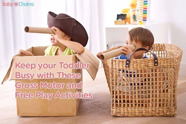How to Develop Your Child's Brain: 20 Months - Gross Motor And Free Play