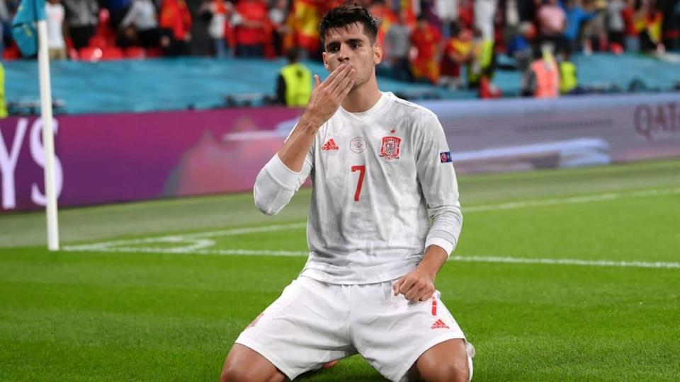 Alvaro Morata | Laurence Griffiths/Getty Images