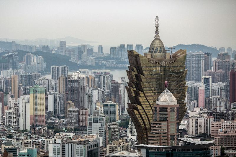 Macau's gambling revenue has bounced back following the corruption crackdown on the Chinese mainland (AFP Photo/ANTHONY WALLACE)