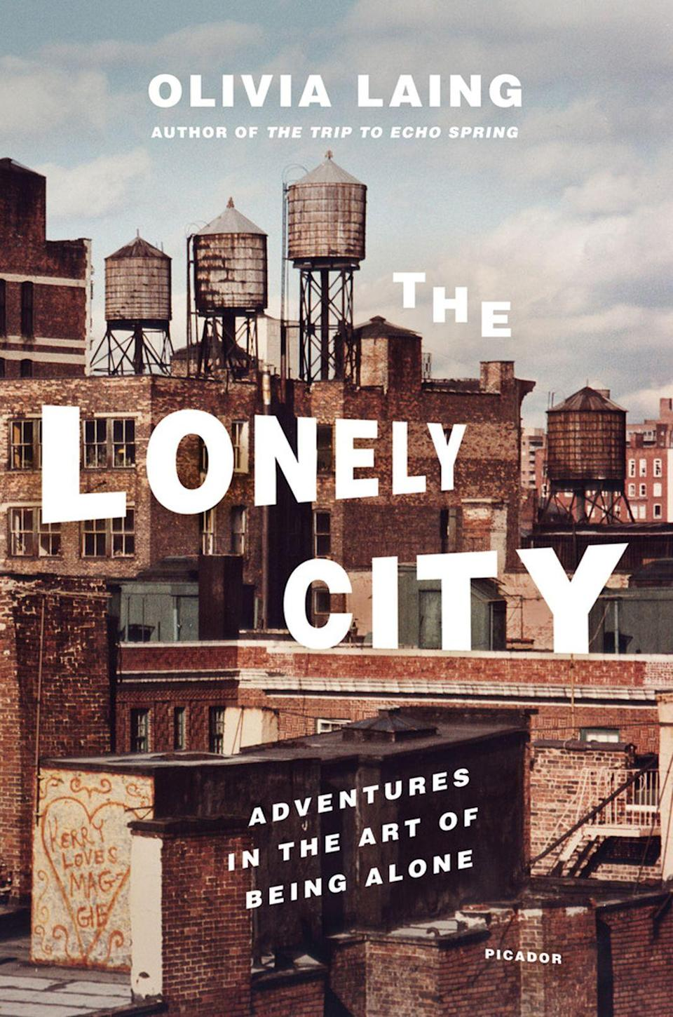 <p><strong><em>The Lonely City</em></strong></p><p>By Olivia Laing</p><p>As increasing numbers of us opt for solo living, it's worth thinking about what loneliness means, both for us as individuals and as a society. That's where Olivia Laing's <em>The Lonely City</em> comes in. When she moved to New York in her mid-30s, Laing found herself lonely and ashamed. But instead of letting it get the better of her, she channelled it into this remarkable work of memoir, biography and cultural criticism. A must-read for everyone, not just the loners among us.</p>