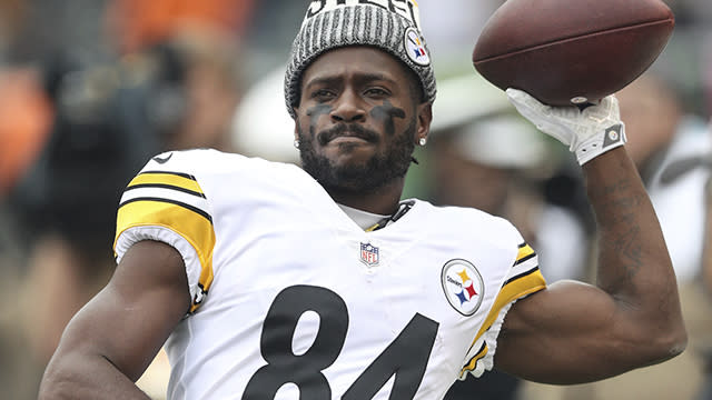 NFL Network's Mike Garafolo breaks down the trade market for Pittsburgh Steelers wide receiver Antonio Brown.