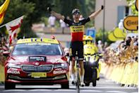 """<p><strong>Who's Winning the Tour?</strong> </p><p>After two trips up and down Mont Ventoux, Slovenia's Tadej Pogačar (UAE Team Emirates) remained the overall leader of the 2021 Tour de France. But it wasn't easy as the Slovenian was dropped by Denmark's Jonas Vingegaard (Jumbo-Visma) 2km from the top of the second ascent of the mountain. Pogačar, Colombia's Rigoberto Uran (EF Education-Nippo), and Ecuador's Richard Carapaz (INEOS-Grenadiers) were able to catch the young Dane on the descent to the stage finish in Malaucène, but for the first time in this year's Tour, Pogačar looked vulnerable—at least for a moment.</p><p>Up the road, Belgium's Wout van Aert made it a banner day for Jumbo-Visma, winning the stage after attacking the remnants of the day's big breakaway on the lower slopes of the second ascent of Ventoux. Unable to stay with van Aert, Trek-Segafredo teammates Kenny Elissonde and Bauke Mollema finished second and third.</p><p><strong>Who's <em>Really</em> Winning the Tour?</strong></p><p>Pogačar still has a commanding lead in the Tour's General Classification: 5:18 over Uran and 5:32 over Vingegaard. But midway through the three-week race, we can't help but wonder if his efforts during the Tour's first """"week"""" (Stages 1 through 9) are starting to catch up to him. Has he peaked too soon? And if he has, does his team have the strength to protect his advantage?</p><p>The three riders with the best chances of challenging him have emerged—Uran, Vingegaard, and Carapaz—but they'll need to work together (for now) to try and crack Pogačar and his teammates before worrying about their own results. There are plenty of opportunities for them to get the job done in the Pyrenees, but without a concerted, strategic effort, it might not happen.</p><p>Speaking of opportunities, INEOS might have missed one today. The team controlled the stage as if it were defending the yellow jersey, essentially giving Pogačar and his team a free ride throughout much of the day. Had the"""