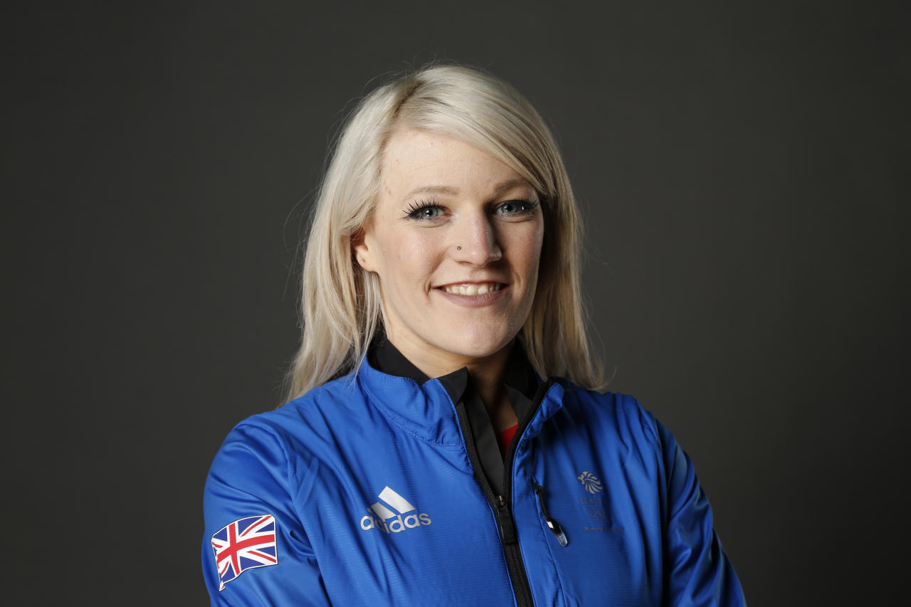 <p>Elise Christie poses during Team GB Kitting Out Ahead Of Pyeongchang 2018 Winter Olympic Games on January 22, 2018 in Stockport, England. (Photo by Patrick Elmont/Getty Images) </p>