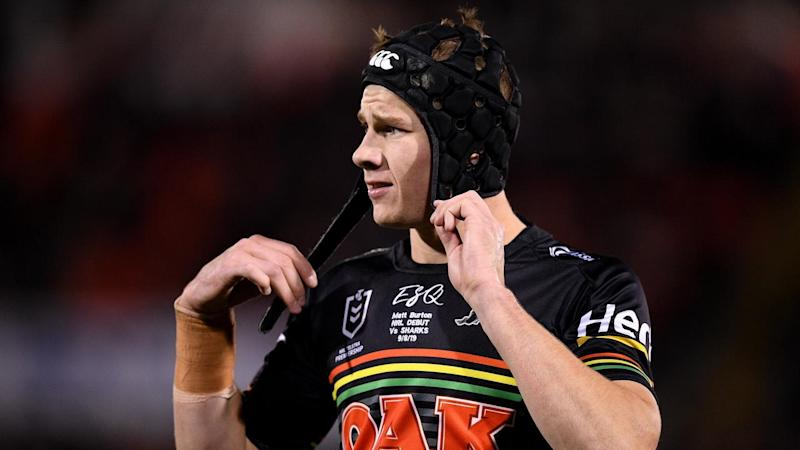 Matt Burton is the frontrunner to replace Nathan Cleary, who is facing a two-match suspension