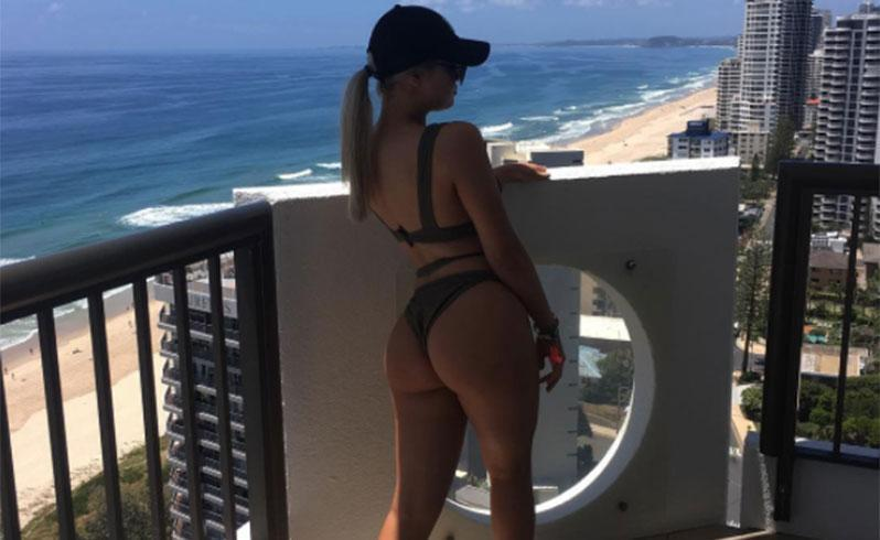 Many Gold Coast Schoolies revellers showcased their bikini shots and derrieres on social media. Photo: Instagram