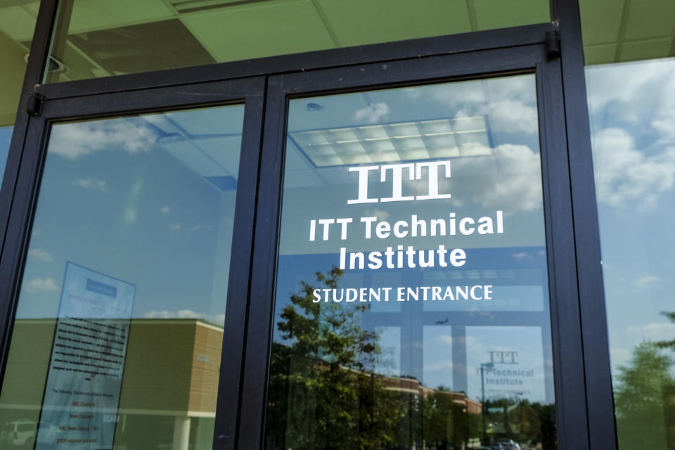 The Chantilly Campus of ITT Technical Institute sits closed and empty on Tuesday, September 6, 2016, in Chantilly, VA. (Photo: Jahi Chikwendiu/The Washington Post via Getty Images)