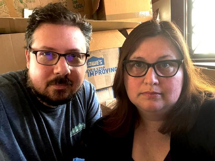 Alex and Gina Beckers moved in November from Los Angeles to Portland, Ore.