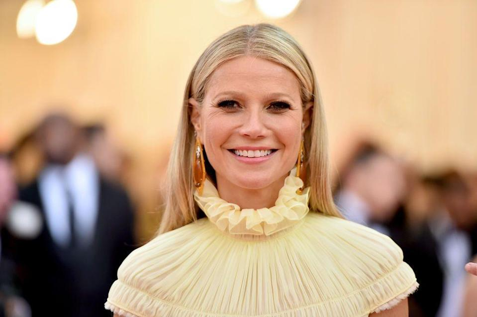 <p>Some of us are <em>not </em>ready to give up that sun-kissed blonde just yet (🙋). Ask your colorist to brighten up your grown-out roots like Gwyneth Paltrow to carry those summer vibes well into the winter.</p>