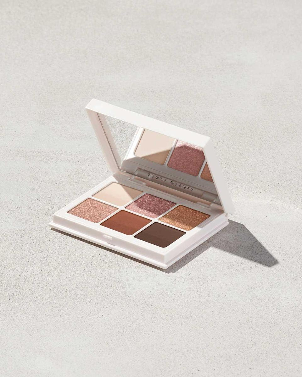 "<br><br><strong>Fenty Beauty</strong> Snap Shadows Mix & Match Eyeshadow Palette, $, available at <a href=""https://go.skimresources.com/?id=30283X879131&url=https%3A%2F%2Ffave.co%2F3dziEKr"" rel=""nofollow noopener"" target=""_blank"" data-ylk=""slk:Fenty Beauty"" class=""link rapid-noclick-resp"">Fenty Beauty</a>"