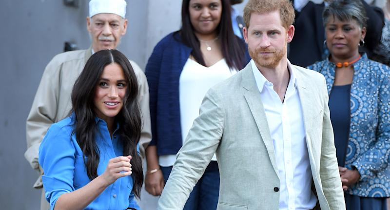 The Duke and Duchess of Sussex (Photo by Karwai Tang/WireImage)