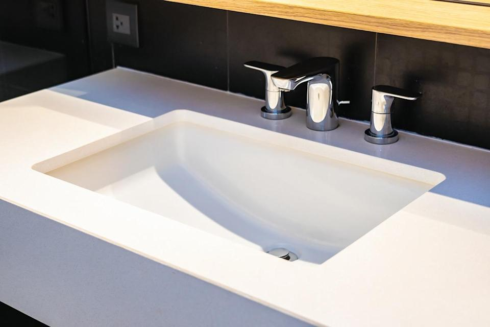 Water faucet Sink decoration in bathroom