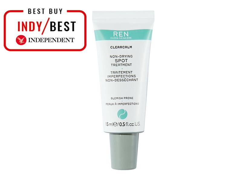 When using a spot treatment, always apply it to dry, clean skin, followed by your moisturiser(The Independent)
