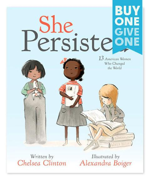 """<p><strong>BUY NOW: </strong><span><em>$13, <a rel=""""nofollow"""" href=""""https://www.zulily.com/p/she-persisted-hardcover-265509-49993444.html?"""">zulily.com</a></em></span></p><p><span>A must-read for future leaders, Chelsea Clinton celebrates 13 American women who have persevered in the face of adversity.</span></p>"""