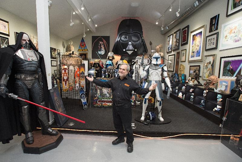 Owner of largest star wars memorabilia collection robbed for Star wars museum san francisco