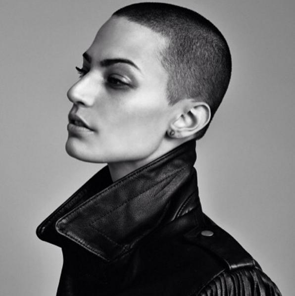 this fashion model battling cancer is a role model too