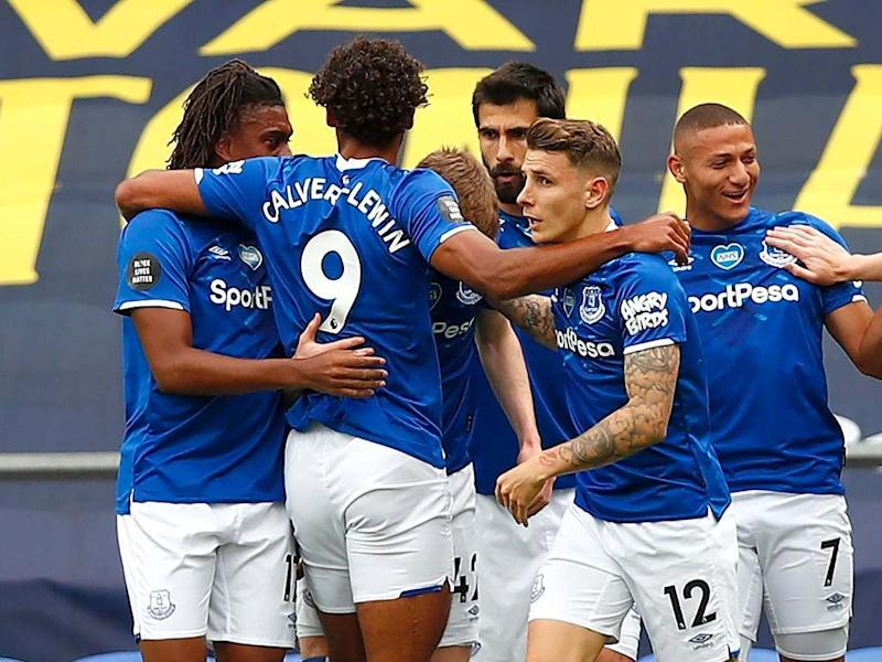 Everton are unbeaten since the top flight's return: Getty