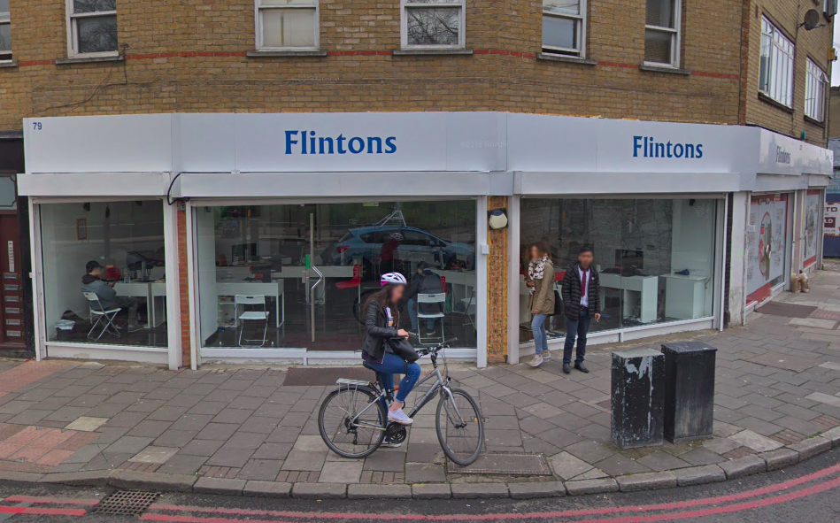 <em>Flintons in London said it did not charge fees for viewings (Google)</em>