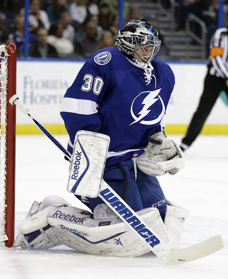 Salo scores in 13th SO round, Bolts top Isles 3-2