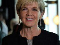 Julie Bishop calls out male deafness: 'If you're the only female voice in the room, they just don't seem to hear you'