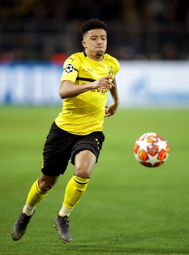 The 21-year-old has scored 50 goals in 137 appearances for Dortmund (Adam Davy/PA).