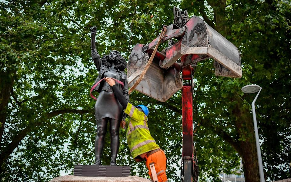 The statue of Jen Reid is removed - PA