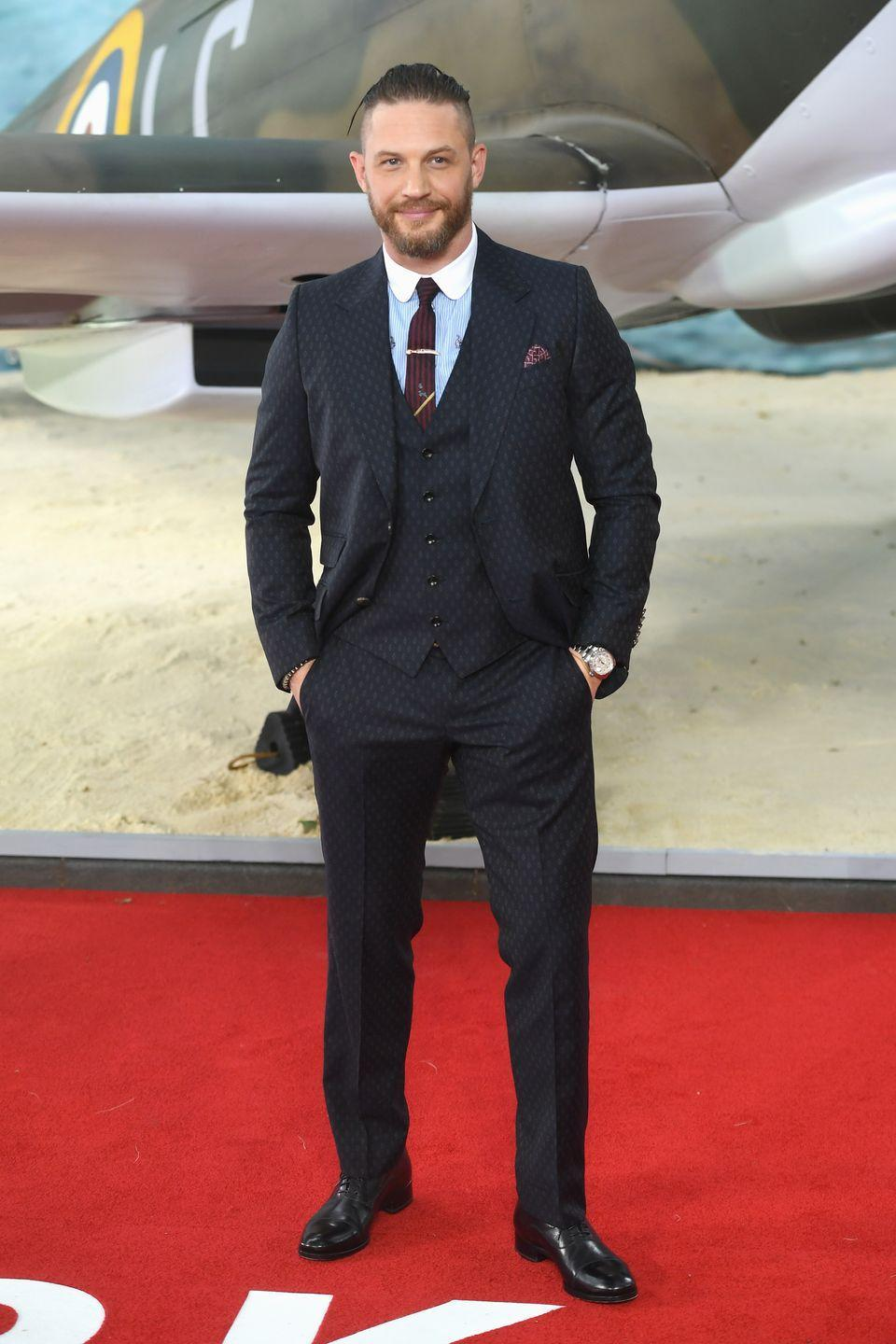 <p>Maybe you didn't know, but bad-boy Tom Hardy is the father of three. He a son with his ex-girlfriend Rachael Speed who was born in 2008 and with his current wife, Charlotte Riley, he has two children. The first was born in 2015 and the second was born in 2019.</p>