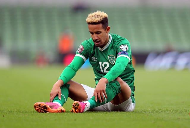 Republic of Ireland striker Callum Robinson has found himself in the firing line after admitting he has not been vaccinated against Covid-19