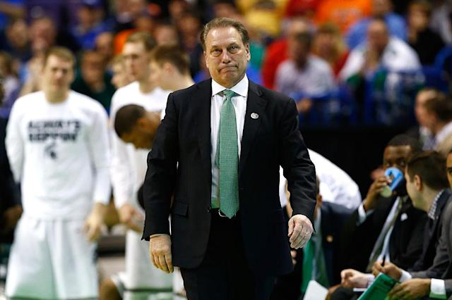 <p><strong>42. Michigan State</strong><br>Top 2017-18 sport: men's soccer, women's volleyball. Trajectory: Steady. Scandal swept out popular AD Mark Hollis, but things marginally improved on the field. After two straight years at No. 53, the Spartans moved up to 50th. That still was only better than three other Big Ten schools. </p>