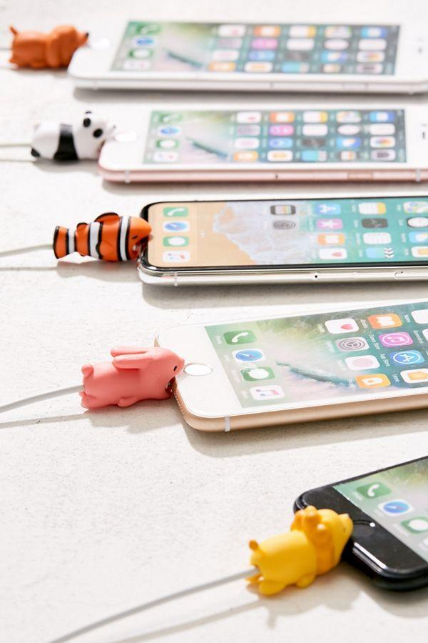 """<h2>Animal Cable Bites</h2>The mini animal you didn't know you needed to bite onto the end of your charging cable. They're $6 each (or you can get two for $10) — and they come in 15 variations, the best of which are, in this author's opinion, the sheep and the bunny. <br> <br> <strong>Urban Outfitters</strong> Cable Bite, $, available at <a href=""""https://www.urbanoutfitters.com/shop/cable-bite"""" rel=""""nofollow noopener"""" target=""""_blank"""" data-ylk=""""slk:Urban Outfitters"""" class=""""link rapid-noclick-resp"""">Urban Outfitters</a>"""