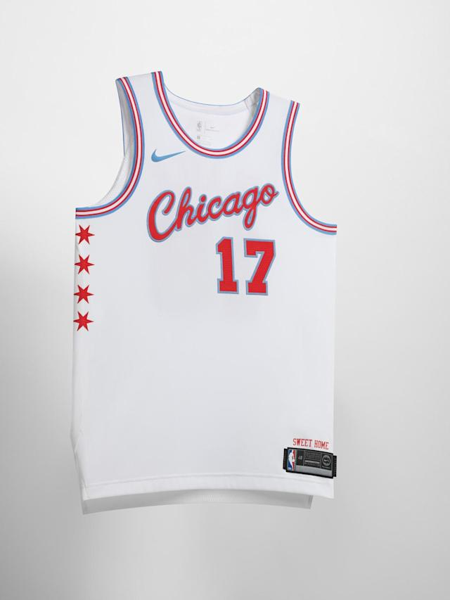 Chicago Bulls City uniform. (Nike)