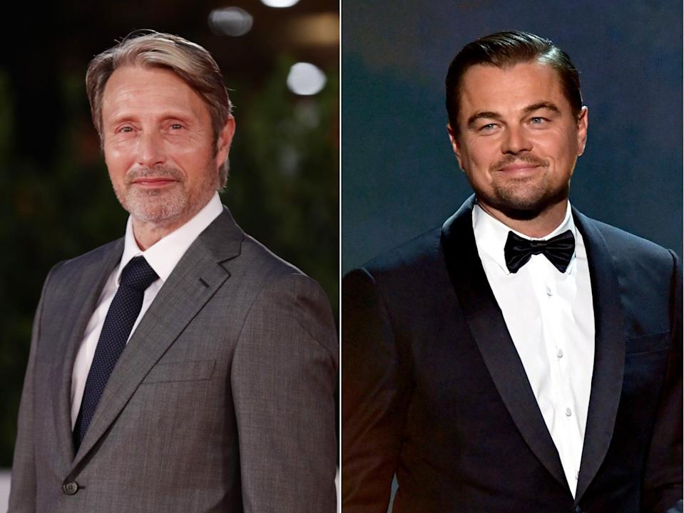 Mads Mikkelsen has responded to the news that Leonardo DiCaprio may be starring in a remake of Druk (Getty)