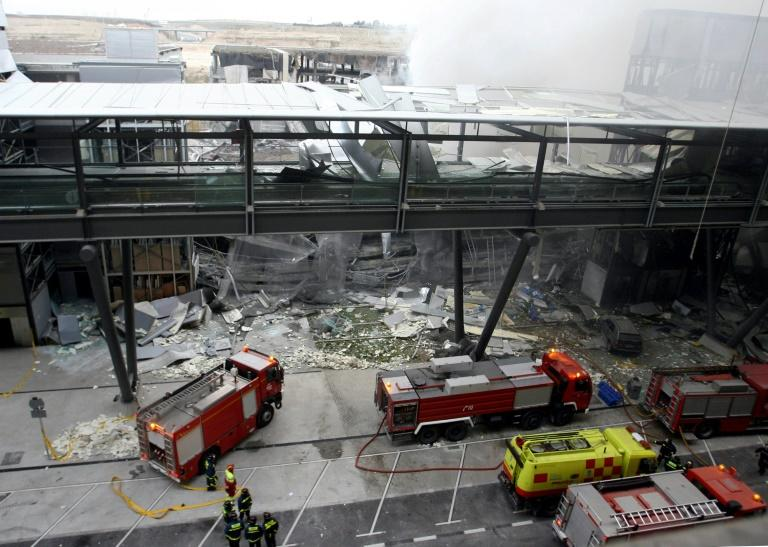 ETA claimed responsibility for a bombing at Barajas Airport in Madrid in 2006