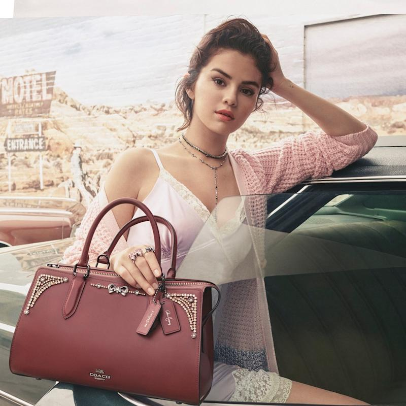 Selena Gomez x Coach Is Here—See Every Piece