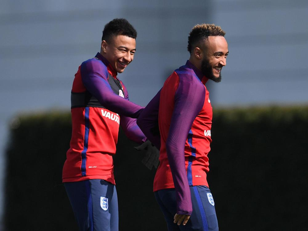 Jesse Lingard likes a laugh but knows when he needs to focus: Getty