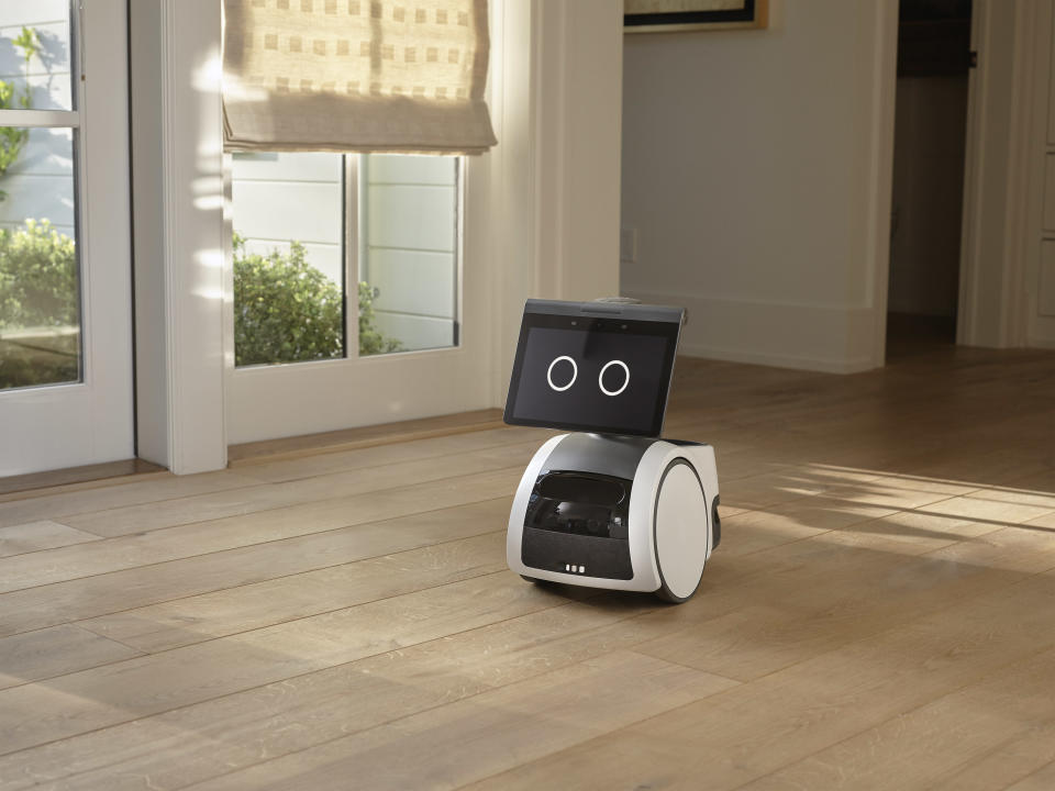 Astro is an Echo or Alexa assistant on wheels, with an eye for home security. - Credit: Courtesy photo