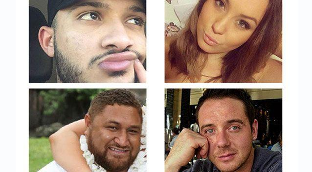 Some of the thunderstorm asthma victims. Source: 7News