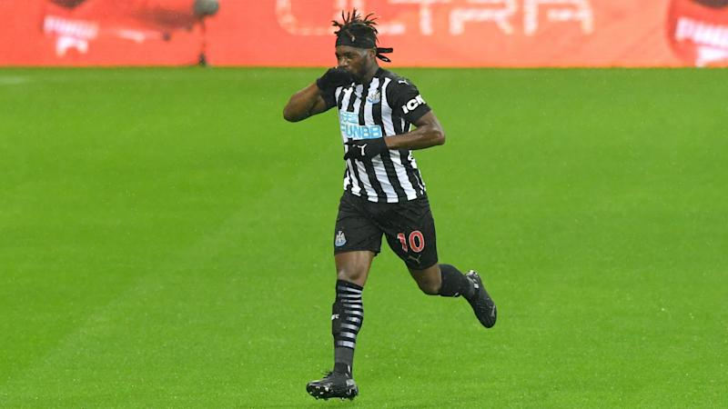 Allan Saint-Maximin loving life at Newcastle after signing new deal until 2026