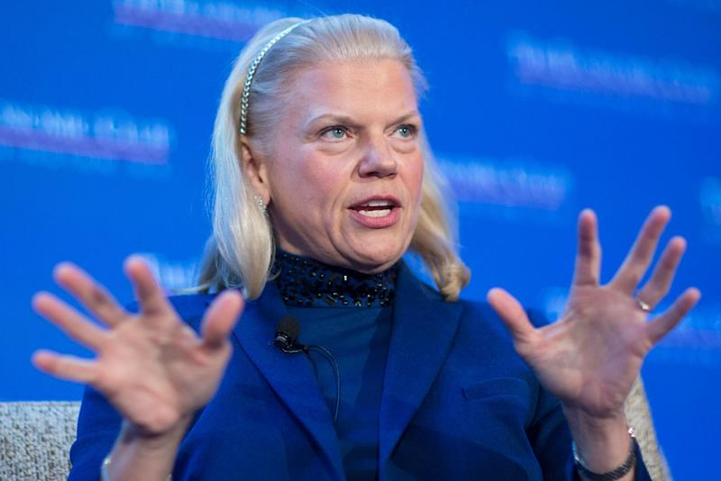 IBM stock rises after earnings beat