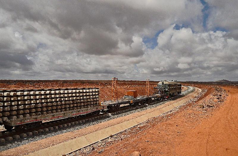 The leaders of Djibouti and Ethiopia will oversee the completion of a railway linking their two capitals on Thursday (AFP Photo/Carl De Souza)