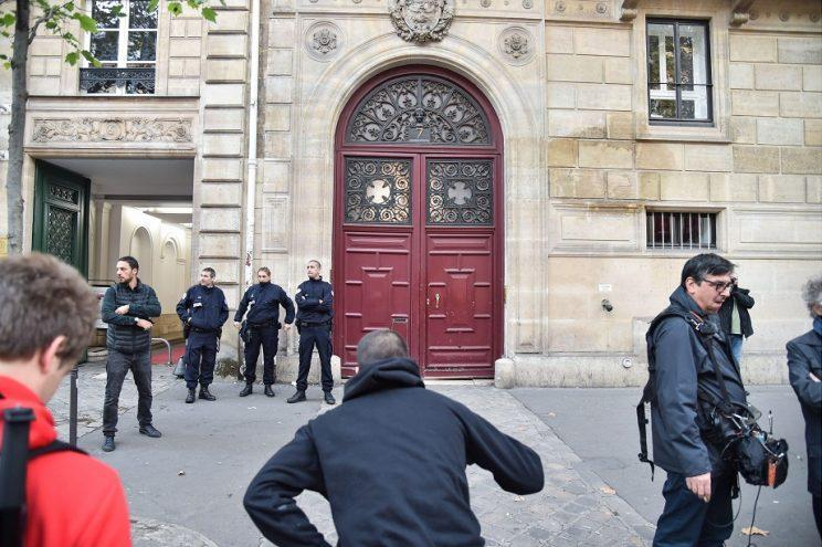 The luxury French hotel where the attack took place Copyright: Rex
