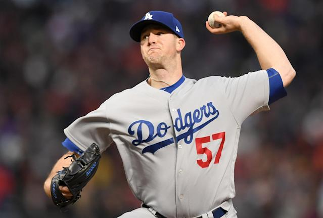 If he were to qualify for the ERA title, Alex Wood would lead the National League. (Getty Images)