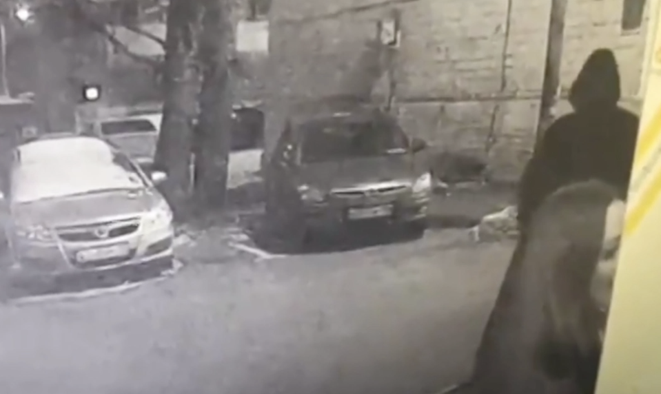 CCTV of the moments surrounding the murder have been shared online. Source:  CCTV