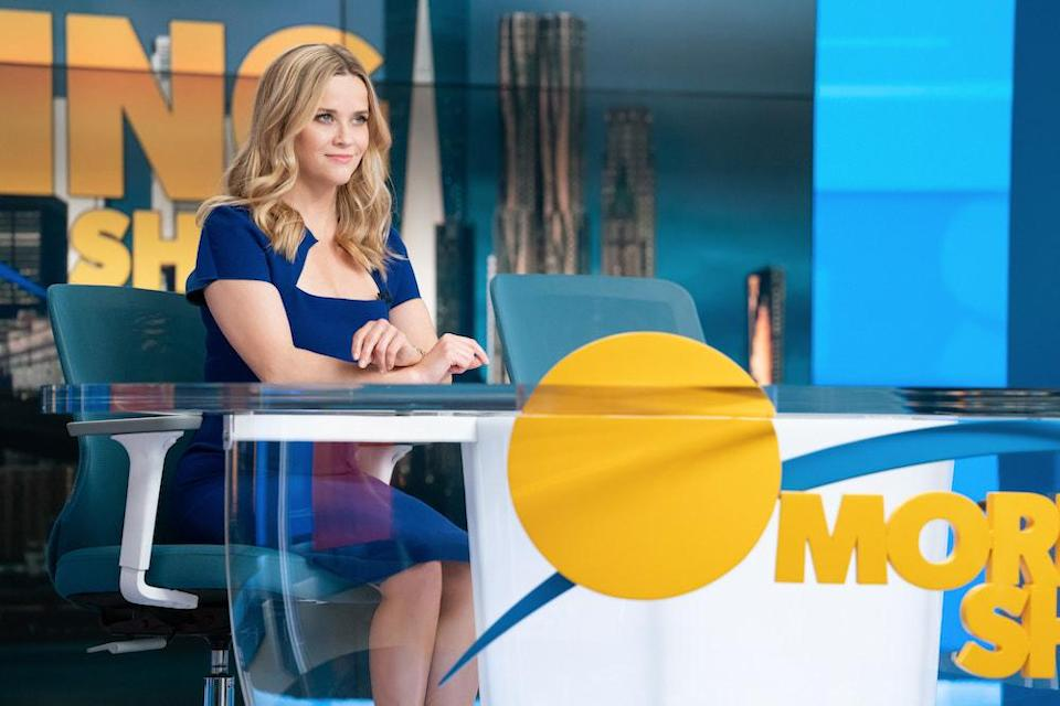 """Reese Witherspoon in """"The Morning Show"""" - Credit: Erin Simkin / Apple TV+"""