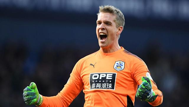 <p><strong>Combined Passes/Touches: 2,298</strong></p> <br><p>Jonas Lössl has been enjoying his first year in the Premier League with newly promoted Huddersfield, leading in both touches and passes completed for goalkeepers. Not only is Lössl leader for completed passes, but he's the only keeper to surpass 1,000 on the season, and has 96 more passes than the next highest. </p> <br><p>Lössl has also been effective against penalties this year, being one of two keepers to save multiple spot shots on the season. </p>