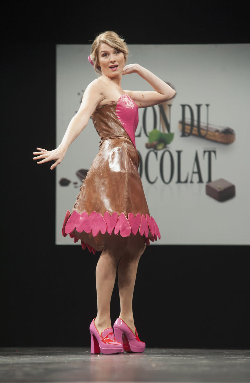 <p>Wear this dress on Valentine's Day, and your sweetie will really appreciate the, well, sweets.</p>