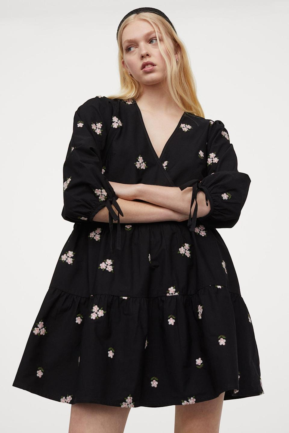 <p>Get ready for your next friend date in this <span>Embroidered Dress</span> ($50).</p>