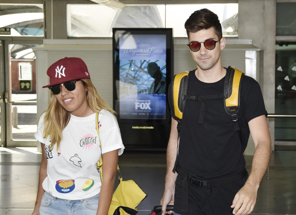 (EXCLUSIVE COVERAGE) Chabelita Pantoja and Alejandro Albala are seen on June 19, 2016 in Madrid, Spain.